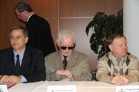 Präsidenten der Weltverbände ICSC, IBCA, IPCA