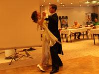 Eröffnung mit Tanzpaar