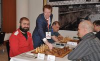 DSC 8454 First move by Jamie Kenmure GM Marcin Tazbir IBCA Poland